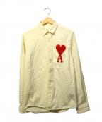 ami(アミ)の古着「ワッペンシャツ」 ホワイト