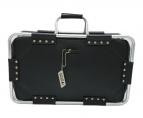 Jean Paul GAULTIER(ジャンポールゴルチェ)の古着「メタルパイプフレームバッグ」|ブラック