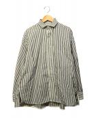 TICCA(ティッカ)の古着「ストライプワイドシャツ」|ホワイト