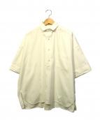 TICCA(ティッカ)の古着「ハーフスリーブスクエアビッグシャツP/O」|ホワイト