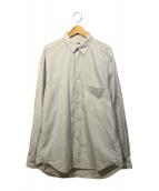 H BEAUTY&YOUTH(エイチ ビューティアンドユース)の古着「BALLOON BIG SHIRT」|ホワイト×パープル