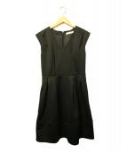 THE DRESS BY FLICKA(ザ ドレスバイフリッカ)の古着「ノースリーブワンピース」|ブラック