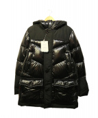 WOOLRICH(ウールリッチ)の古着「LOGO ARCTIC PARKA」|ブラック