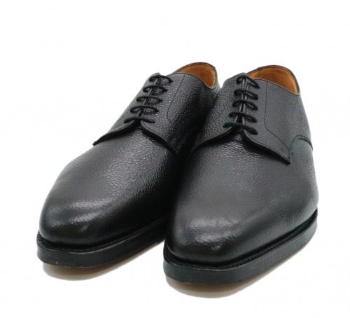 Tricker's(トリッカーズ)Tricker's (トリッカーズ) プレーントゥシューズ ブラック サイズ:8 1/2 Marlow Black Leather Derbyの古着・服飾アイテム