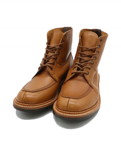 Tricker's(トリッカーズ)Tricker's (トリッカーズ) Uチップブーツ ブラウン サイズ:5 L6356の古着・服飾アイテム
