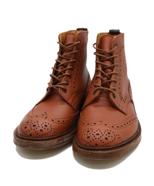 Tricker's(トリッカーズ)Tricker's (トリッカーズ) カントリーブーツ ブラウン サイズ:7 2508  MALTON モルトン モールトンの古着・服飾アイテム