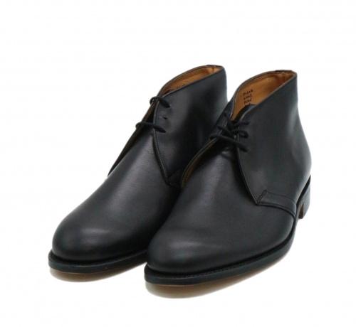 Tricker's(トリッカーズ)Tricker's (トリッカーズ) チャッカーブーツ ブラック サイズ:7 6465 CHUKKA BOOTS WINSTONの古着・服飾アイテム