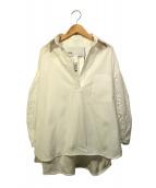 TICCA(ティッカ)の古着「レースパフスリーブシャツ」|ホワイト