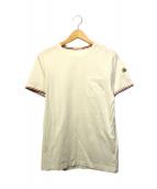 MONCLER(モンクレール)の古着「ポケットカットソー」|ホワイト
