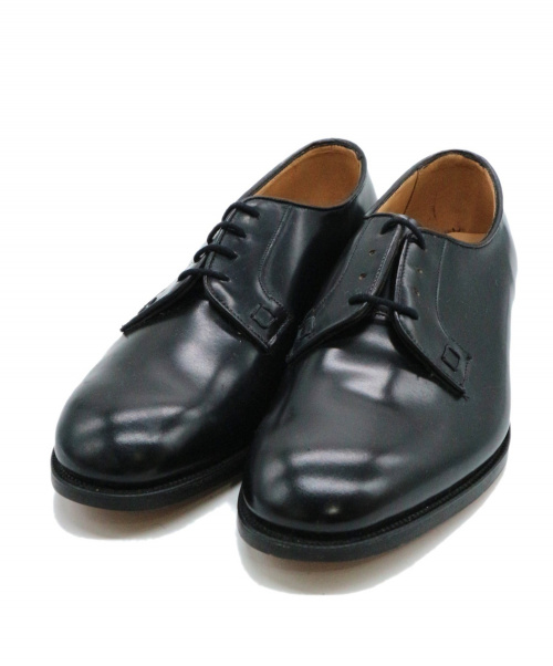 Tricker's(トリッカーズ)Tricker's (トリッカーズ) プレーントゥシューズ ブラック サイズ:6 BARNES バーンズの古着・服飾アイテム
