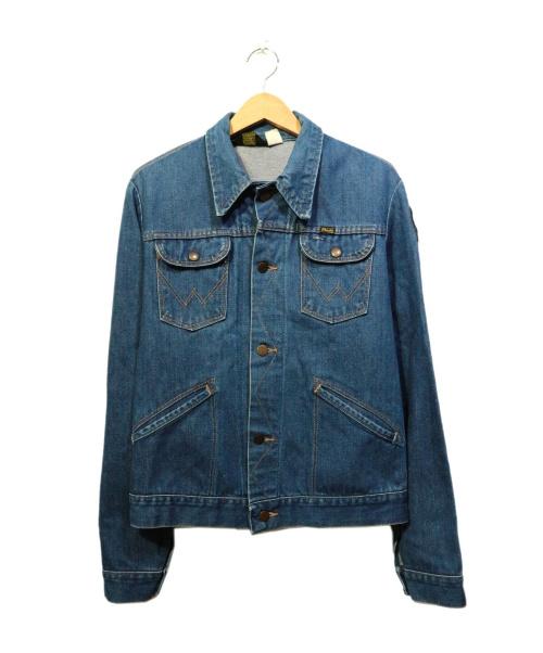 Wrangler(ラングラー)Wrangler (ラングラー) [古着]80sデニムジャケット インディゴ サイズ:38の古着・服飾アイテム