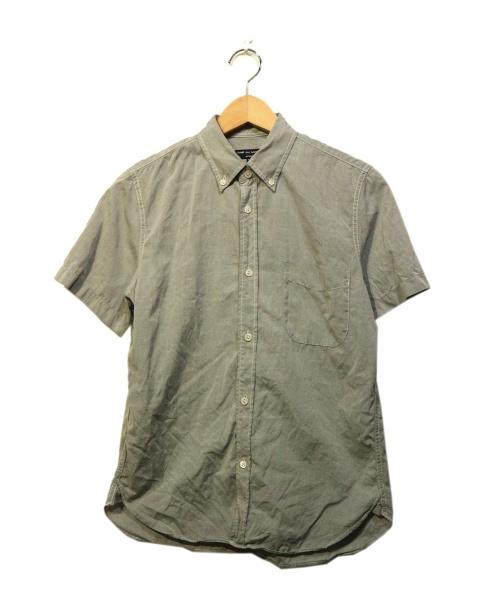 COMME des GARCONS HOMME(コムデギャルソン オム)COMME des GARCONS HOMME (コムデギャルソンオム) S/Sシャツ グレー サイズ:XSの古着・服飾アイテム