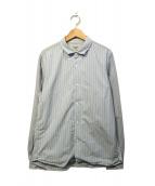 YAECA(ヤエカ)の古着「コンフォートシャツ」|ブルー