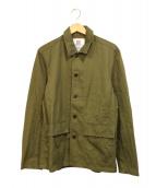 ()の古着「Utility Jacket」|カーキ