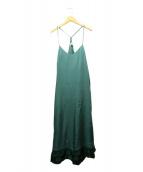 TOGA PULLA(トーガ プルラ)の古着「Inner dress」|グリーン