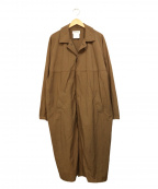 YAECA CONTEMPO(ヤエカ コンテンポ)の古着「RAIN COAT」|ブラウン