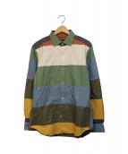 NIGEL CABOURN(ナイジェルケーボン)の古着「オフィサーズシャツ」 マルチカラー