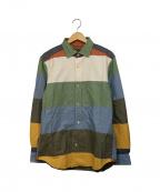 NIGEL CABOURN()の古着「オフィサーズシャツ」 マルチカラー
