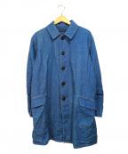 BLUE BLUE()の古着「デニムワークコート」|ブルー