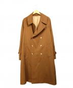 ABAHOUSE(アバハウス)の古着「ダブルブレステッドコート」|ベージュ