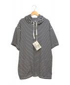 Engineered Garments(エンジニアードガーメンツ)の古着「フーデットカットソー」|ネイビー