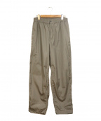 Graphpaper()の古着「Garment dyed poplin pants」|グレー