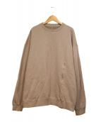 crepuscule(クレプスキュール)の古着「裏毛製品染スウェット」|ベージュ
