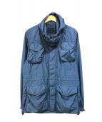 ASPESI(アスペジ)の古着「フィールドジャケット」|ブルー