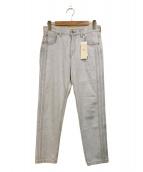 SERGE de bleu(サージ)の古着「デニムパンツ」|インディゴ