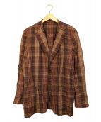 SOVEREIGN(ソブリン)の古着「テーラードジャケット」|ブラウン
