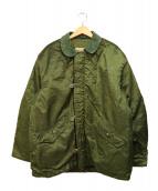 US NAVY(ユーエスネイビー)の古着「コールドウェザーデッキジャケット」|カーキ