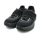 ()の古着「Velcro chunky sneakers」|ブラック