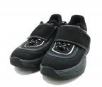 glamb(グラム)の古着「Velcro chunky sneakers」|ブラック