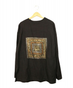 YANTOR(ヤントル)の古着「Mandala embroidery Pullover」|ブラック