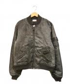 JOHN ELLIOTT(ジョンエリオット)の古着「ボンバージャケット」|グレー