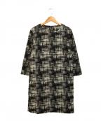 MAX&Co.(マックスアンドコー)の古着「ブラウスワンピース」|ブラック
