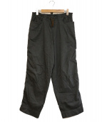 kolor/BEACON(カラービーコン)の古着「パッカリングパンツ」 グレー