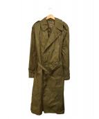 US ARMY(米軍)の古着「レインコート」 ベージュ