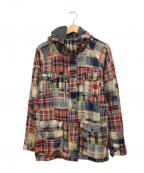 Denim & Supply Ralph Lauren(デニム&サプライ ラルフローレン)の古着「パッチワークジャケット」|マルチカラー