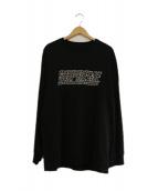Supreme(シュプリーム)の古着「Studded L/S Top」|ブラック
