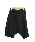 COMME des GARCONS(コムデギャルソン)の古着「サルエルパンツ」|ブラック