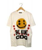 CDG(シーディージー)の古着「プリントTシャツ」 ホワイト