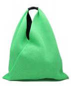 MM6 Maison Margiela(エムエムシックスメゾンマルジェラ)の古着「トートバッグ」 黄緑