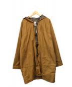 CORONA(コロナ)の古着「フーデッドコート」|ブラウン