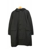 ()の古着「Bold Hooded Coat」|ブラック