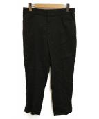 23区(ニジュウサンク)の古着「リネンワイドパンツ」|ブラック