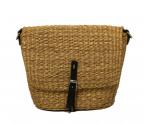 MUUN(ムーニュ)の古着「カゴミニポシェットカゴバッグ」|ベージュ