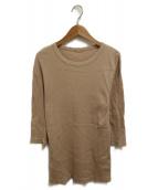 Deuxieme Classe(ドゥーズィエムクラス)の古着「RIB Tシャツ」|ベージュ