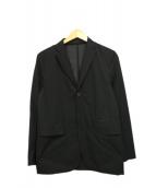 DESCENTE PAUSE(デサントポーズ)の古着「ストレッチパッカブルジャケット」 ブラック