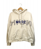 M+RC NOIR(マルシェノア)の古着「パーカー」|ホワイト